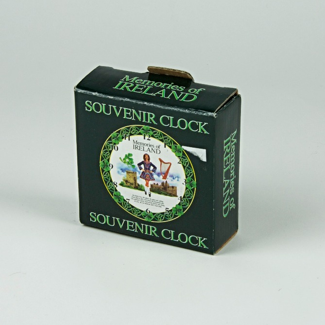 Ireland souvenir clock
