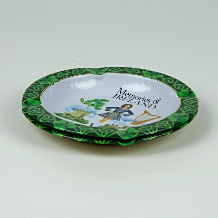 Irish souvenir ashtrays