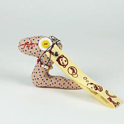 Patterned snake charm