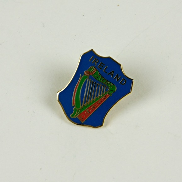 Ireland harp pin