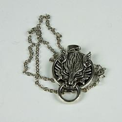 Harry Potter wolf snitch necklace