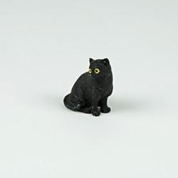 mini sitting cat ornament