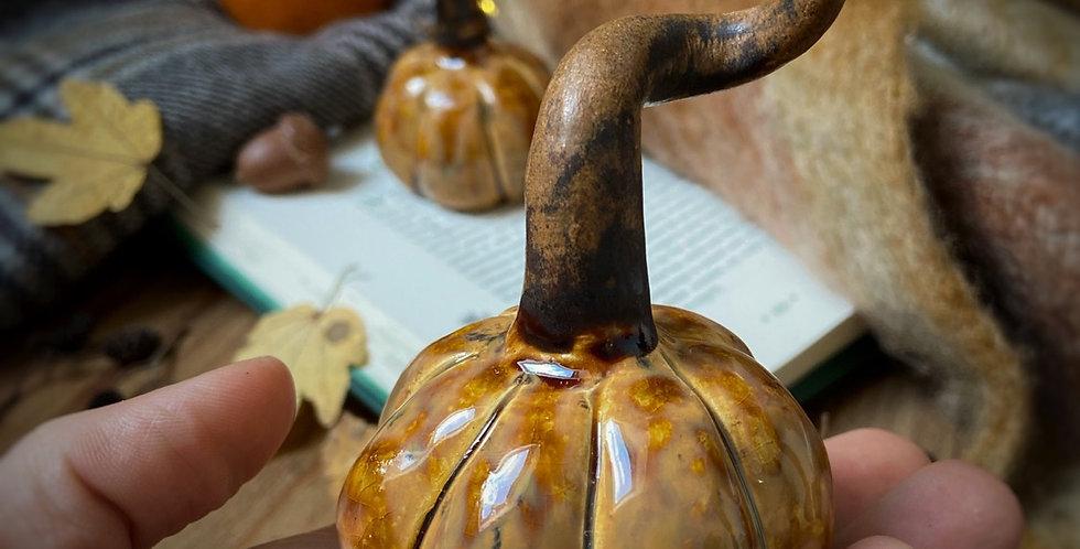 Citrouille en céramique #11
