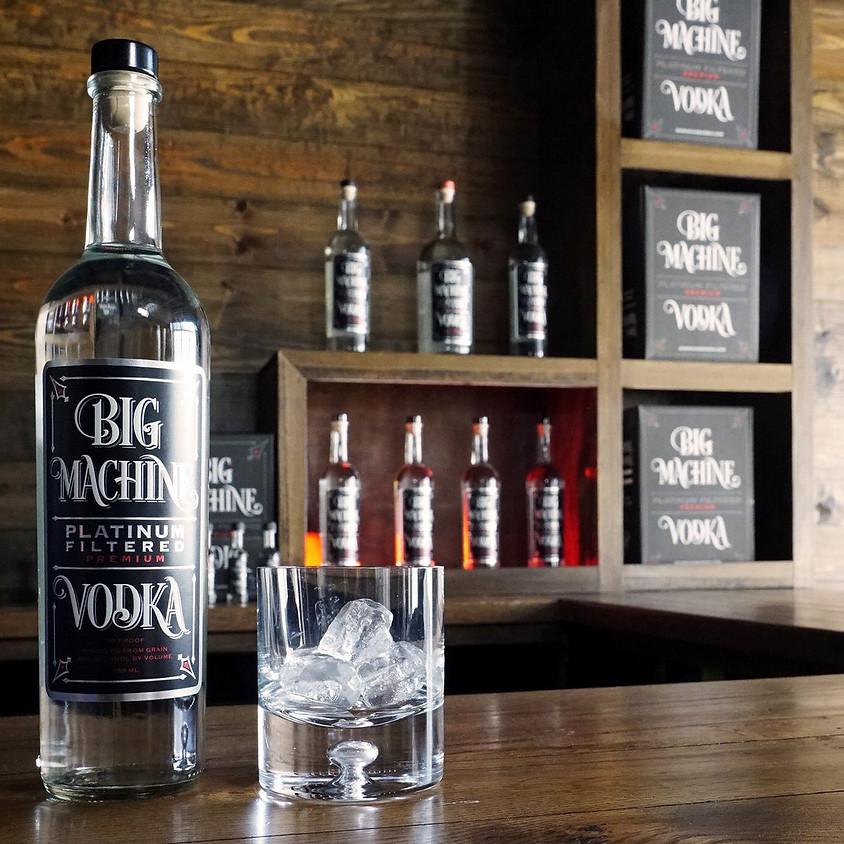 Big Machine Vodka Writer's Round