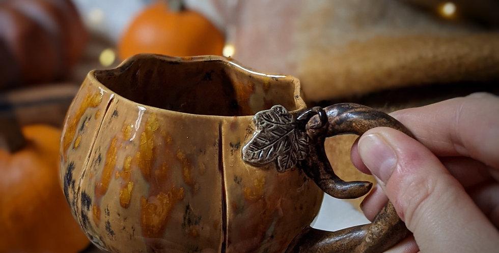 Tasse en céramique - Citrouille rustique moyenne