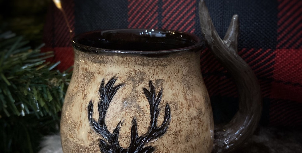 "Mug en céramique ""King of the forest"""