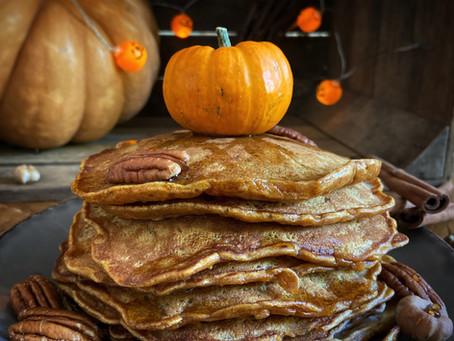 Pancakes à la citrouille - Autumn Cooking Challenge 2020