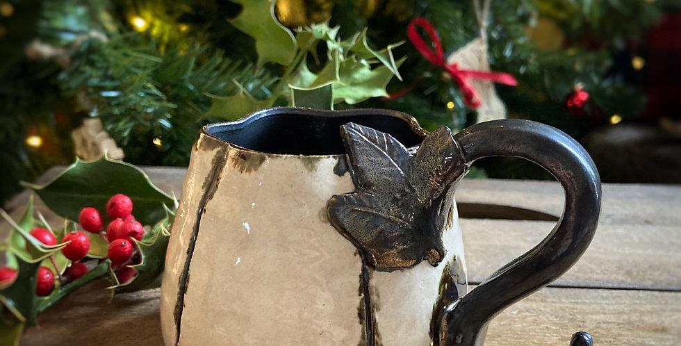 """Mug en céramique - """"Citrouille de Noël"""""""