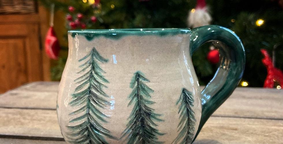 """Mug en céramique """"Pine Forest"""""""