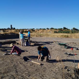 """Excavación en """"Las Pizarras"""""""