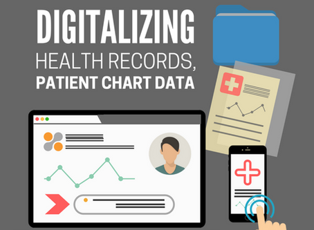 Digitalizing Health Records, Patient Chart Data