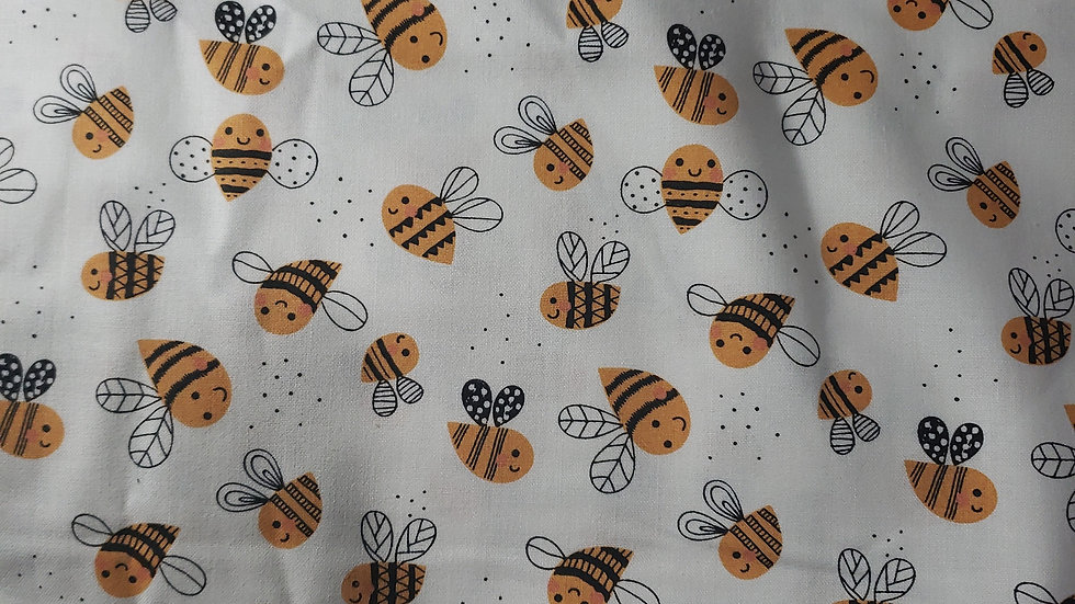 Baby Bee Scrub Caps