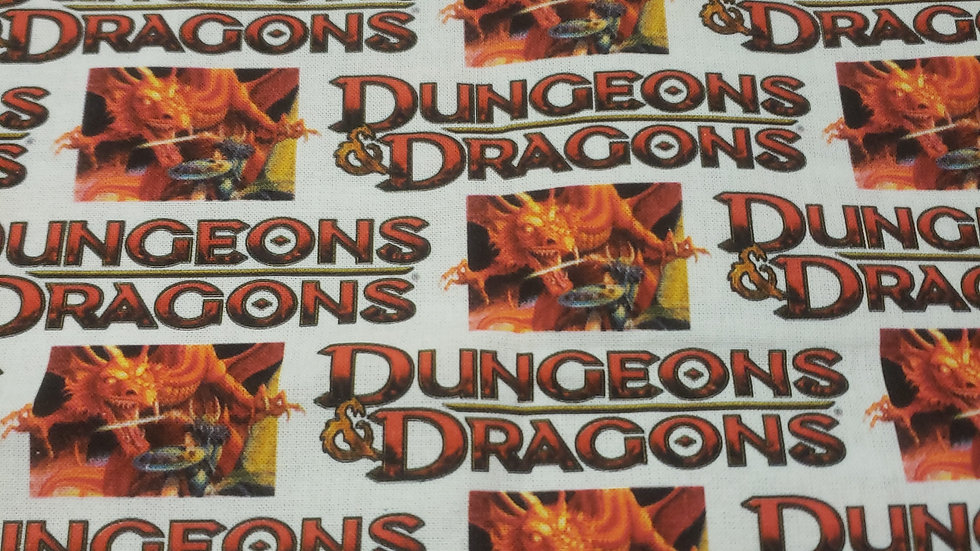 Dungeons & Dragons Book/iPad Sleeve