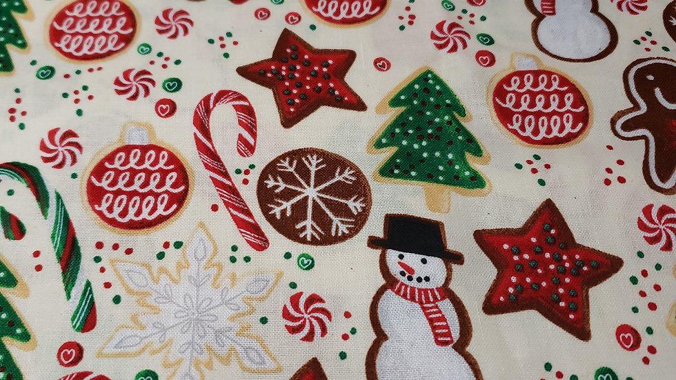 Christmas Gingerbread Mask