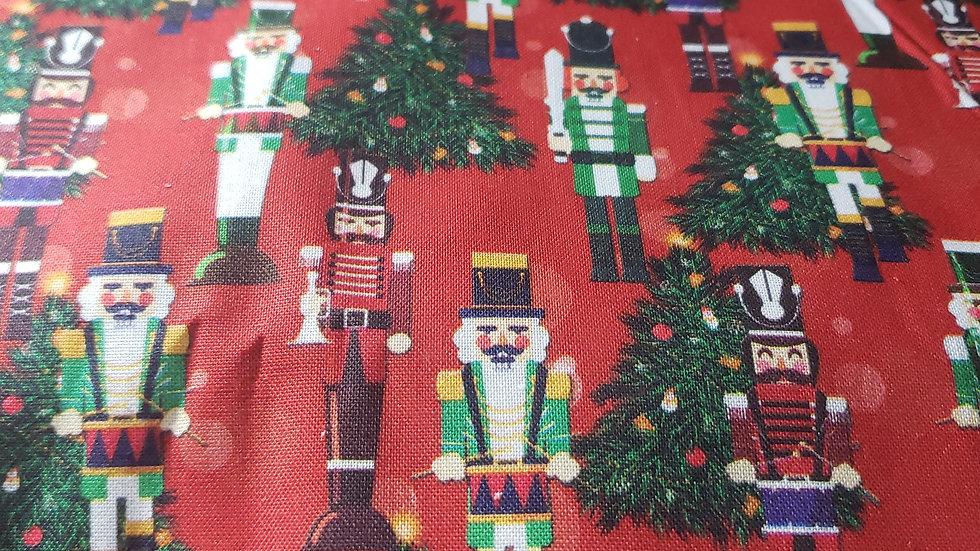 Christmas Nutcracker Scrub Caps