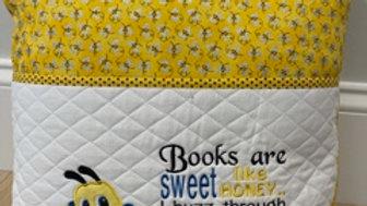Reading Pocket Pillow Case _ Bumblebees