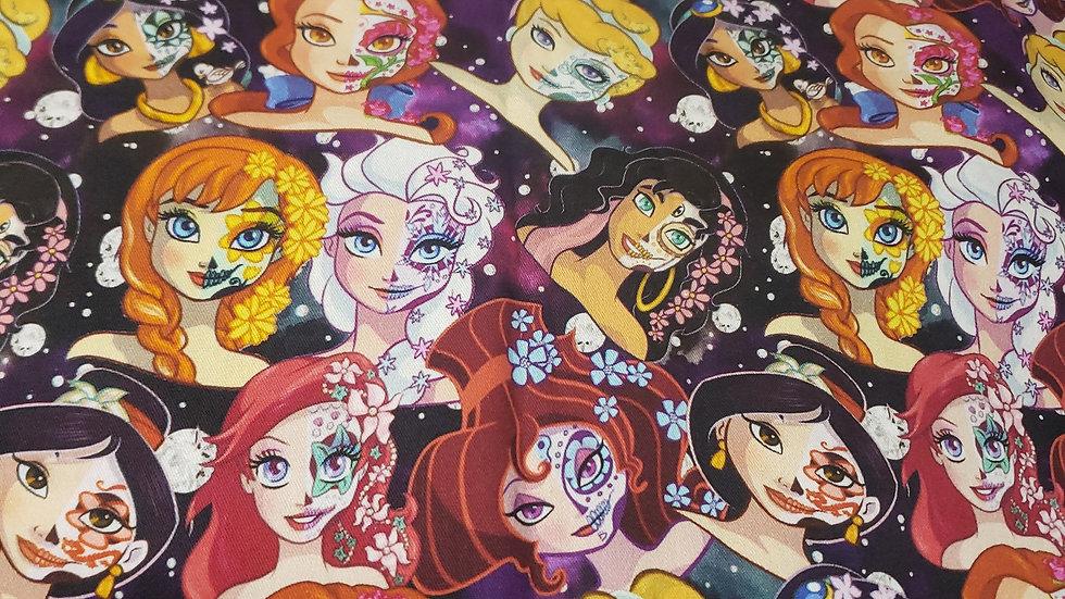 Disney Princess Skull Candy Stack Pleated Masks