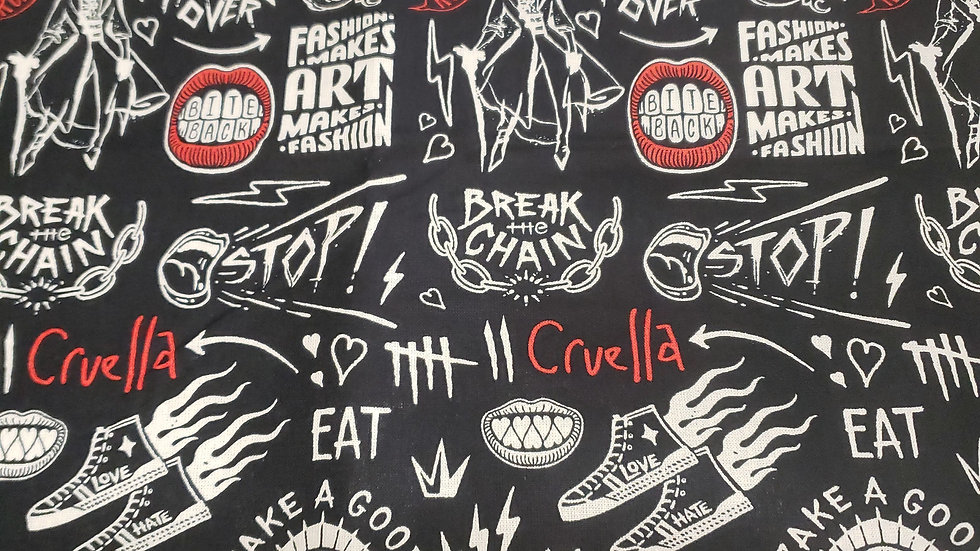 Cruella Deville black