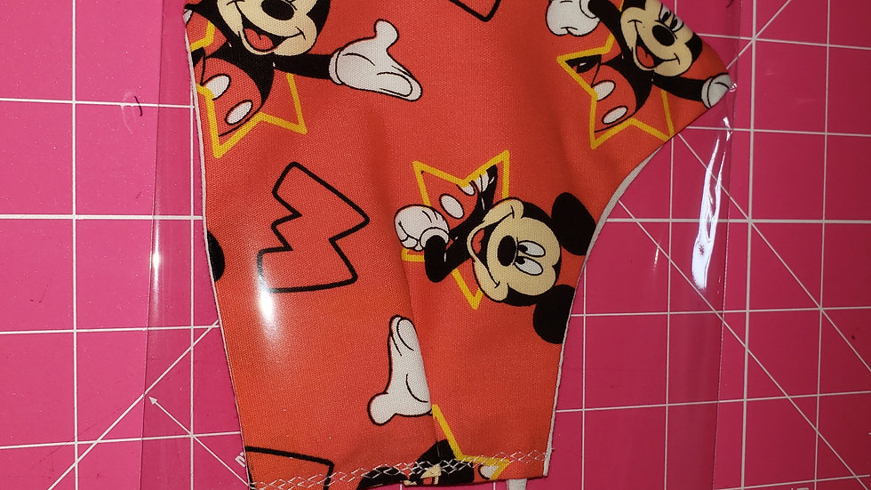 Red Mickey Mouse Mask