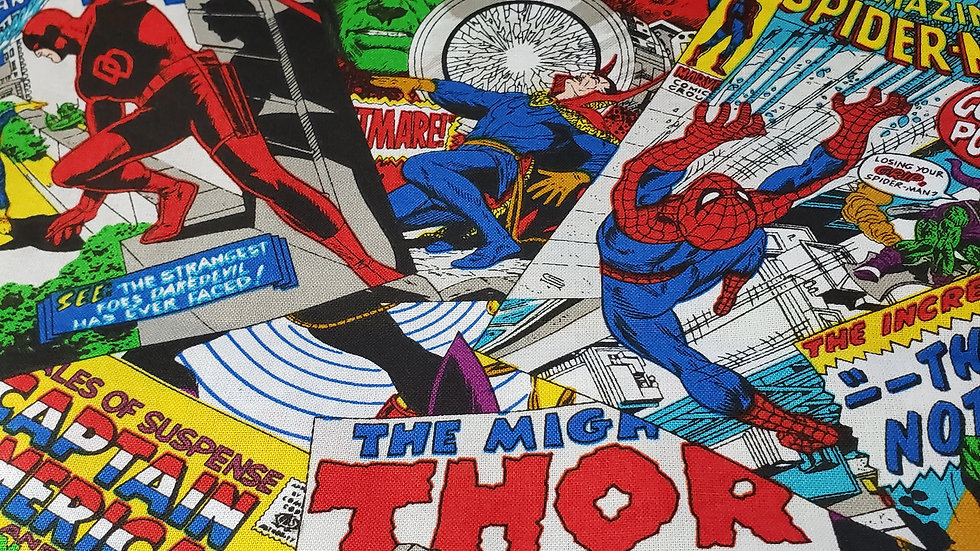 Marvel Comic Book