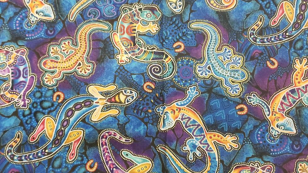 Blue lizards