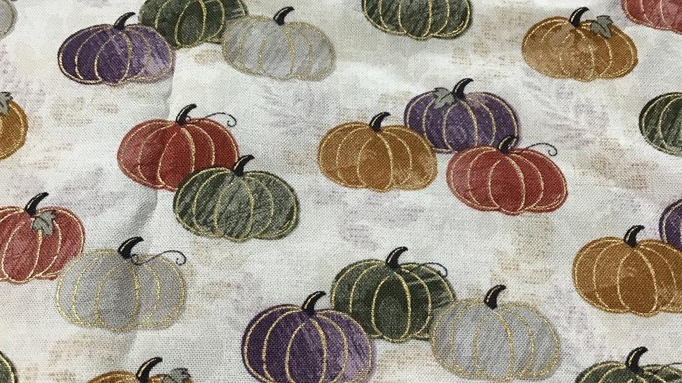 Fall Pumpkins Mask