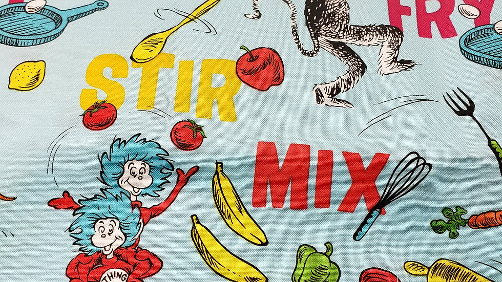 Dr Suess Cat stir and mix