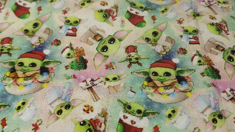 Baby Yoda Christmas Mask