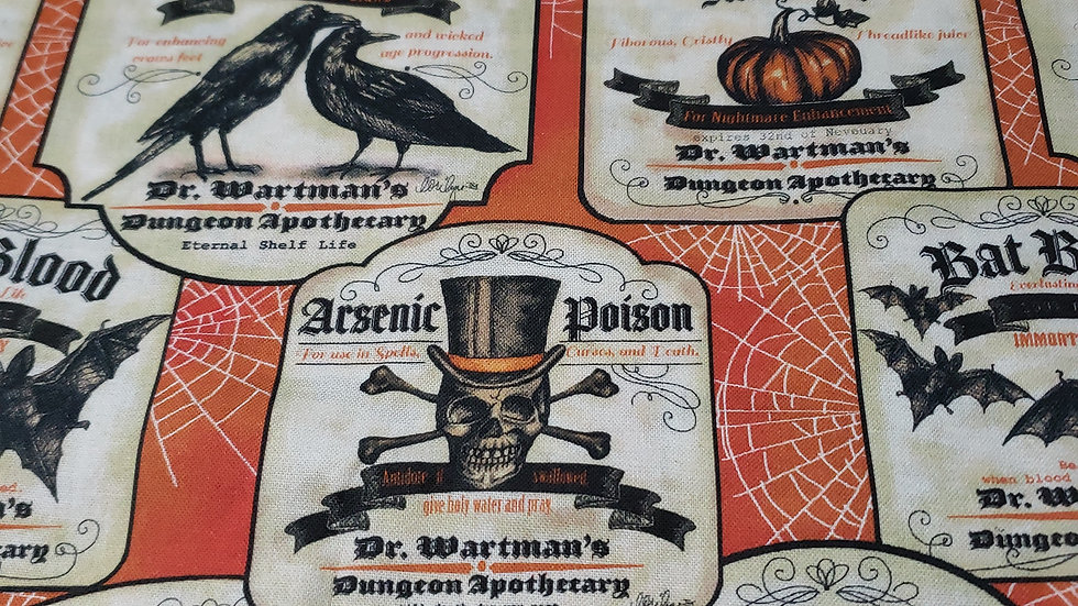 Halloween Arsenic and Poison Mask