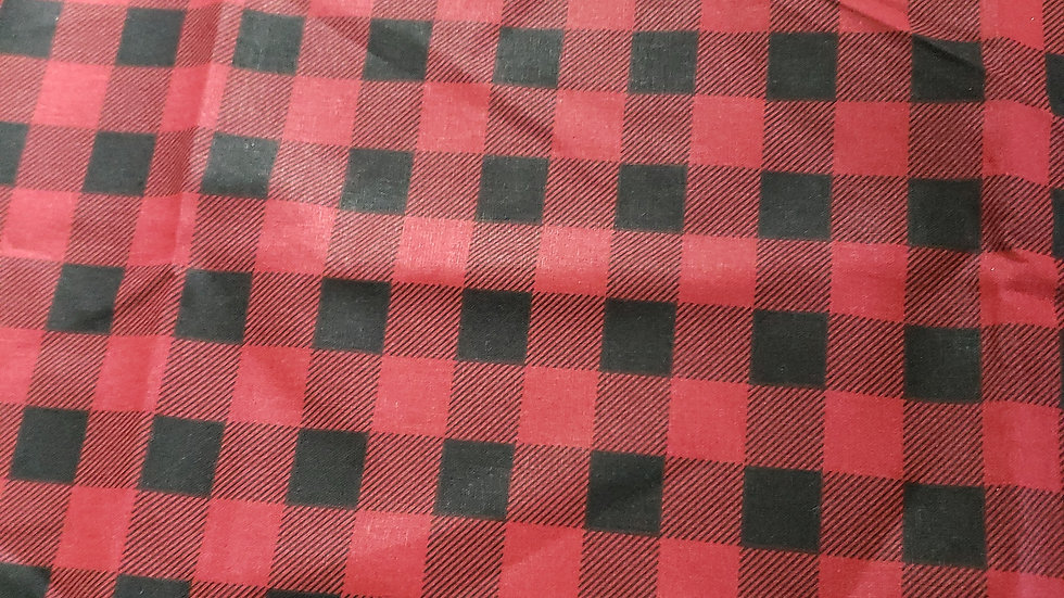 Red and Black Checker