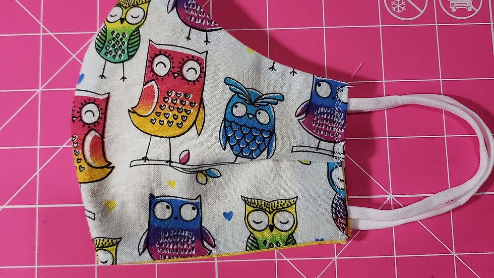 Colorful Owl Mask