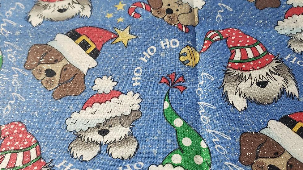 Ho Ho Ho Puppies Christmas Mask 😷