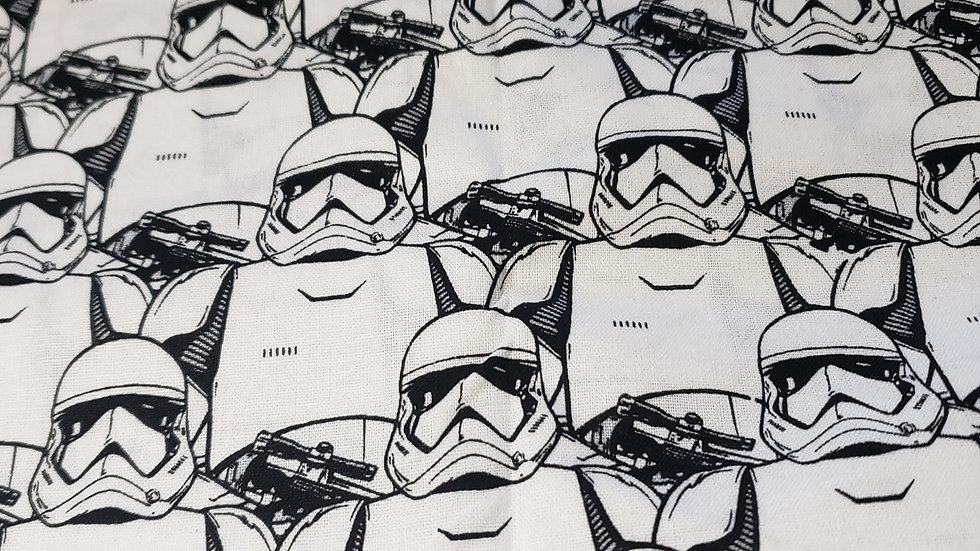 White Star Wars Storm Troopers Mask