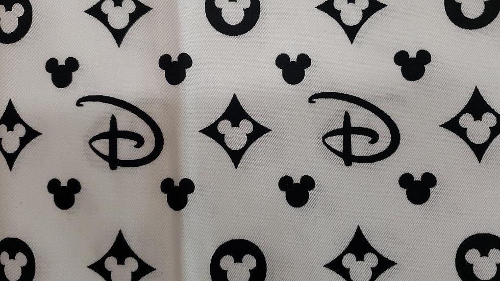 B & W Disney