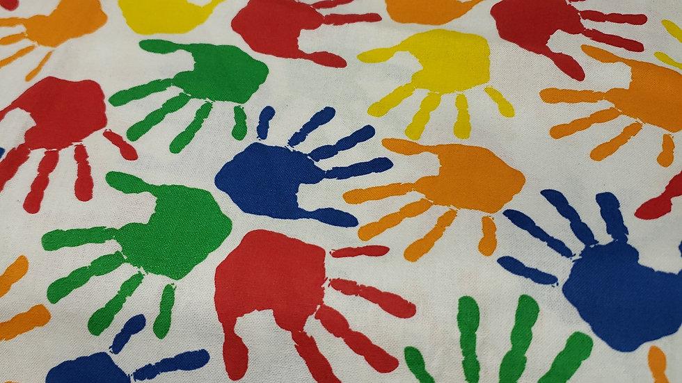 Autism Hands Awareness Zippy Clutch