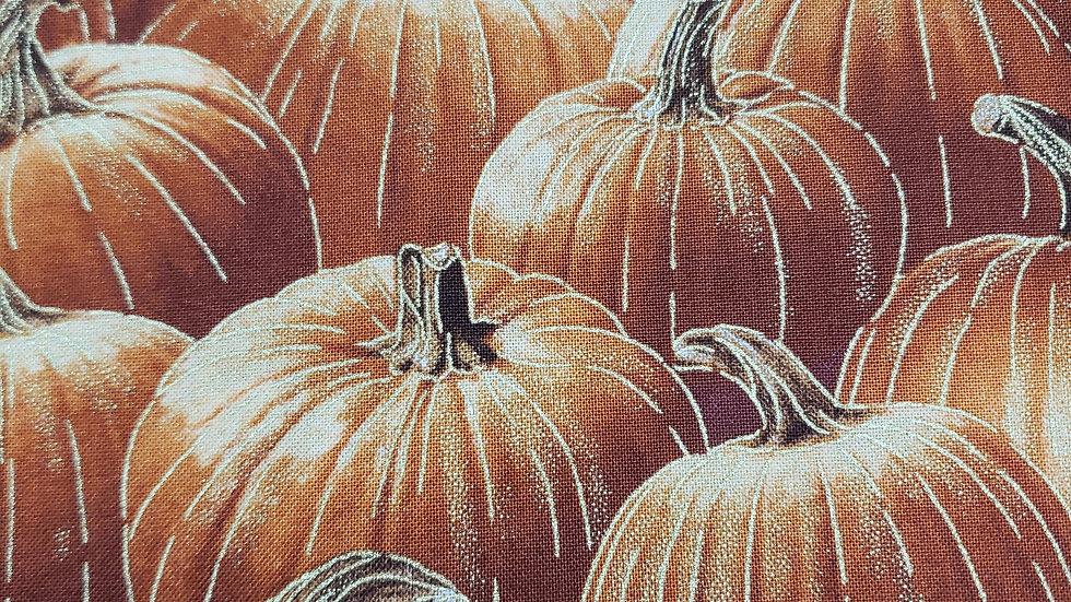 Gold Embellished Pumpkins