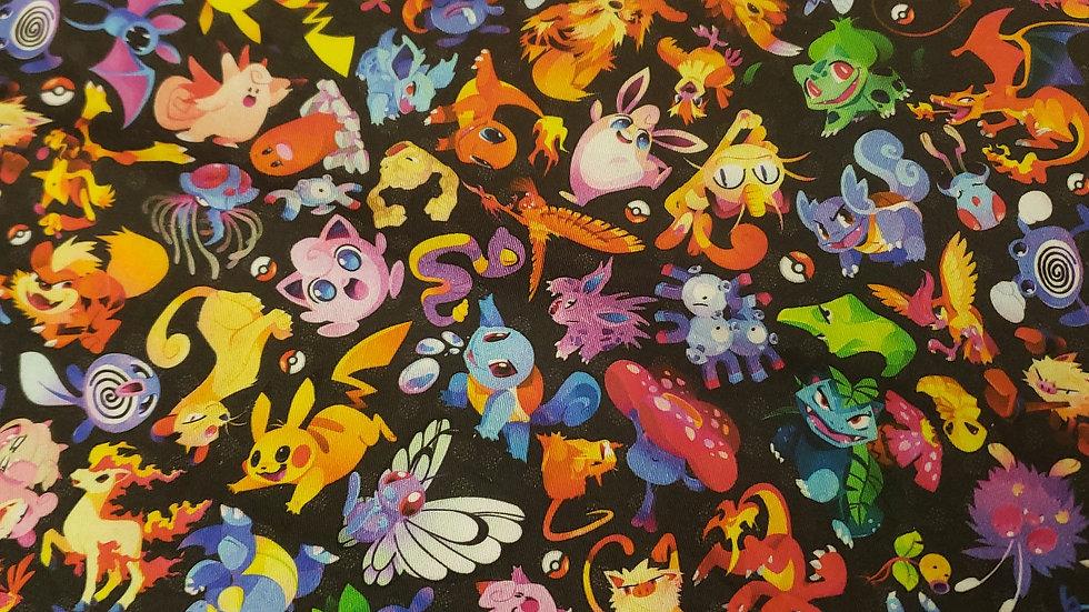 Black Pokémon Zippy Clutch