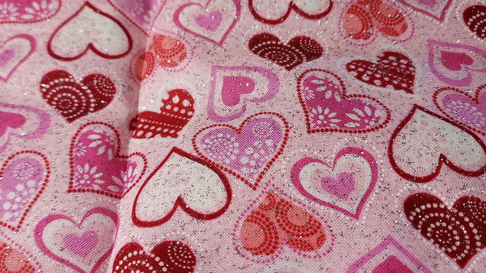 Hearts Scrub Caps