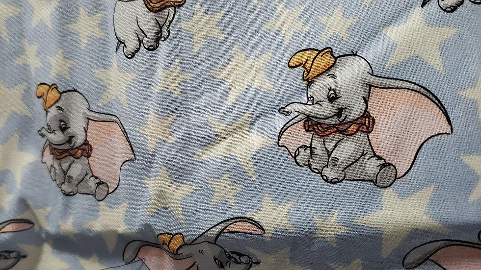 Disney Dumbo & Stars Domino Fitted Mask