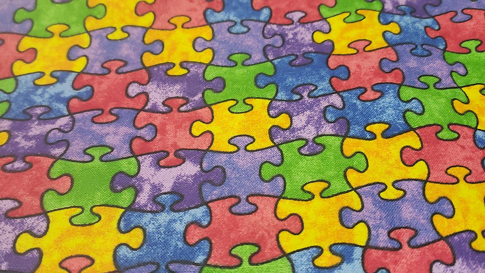 Autism Awareness Scrub Caps