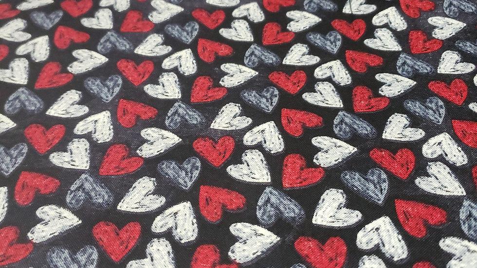 Valentines Chalk Heart's Mask 😷