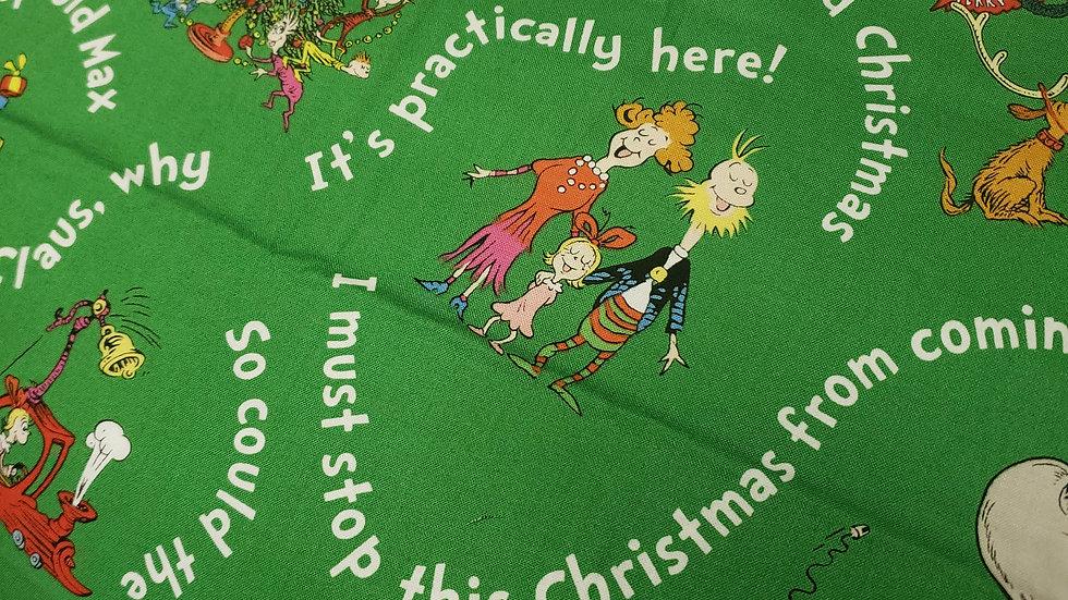Green Grinch Santa Claus