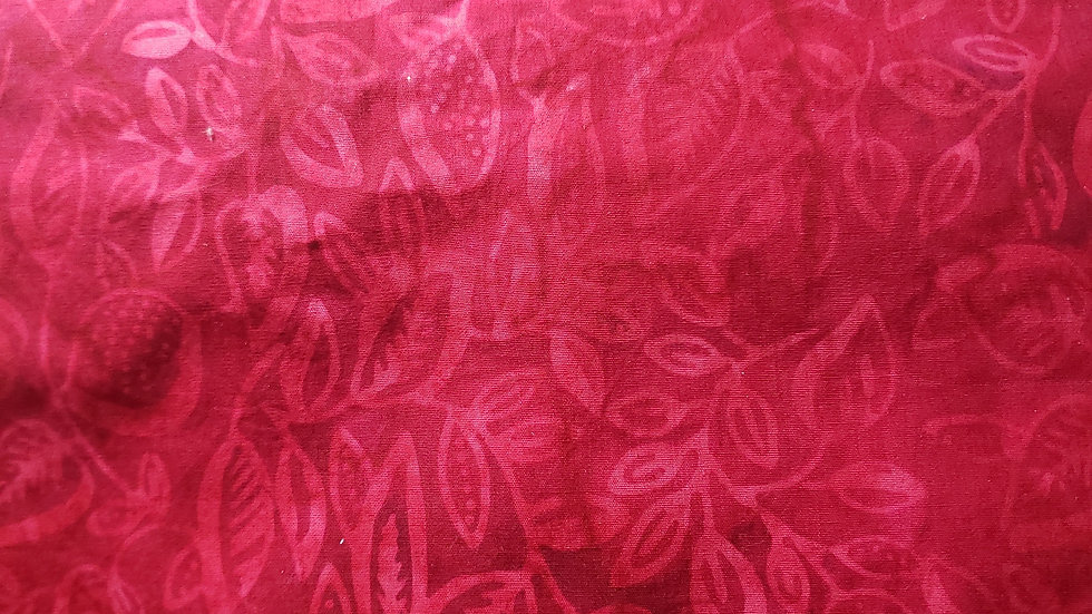 Red Batik Christmas Mask 😷
