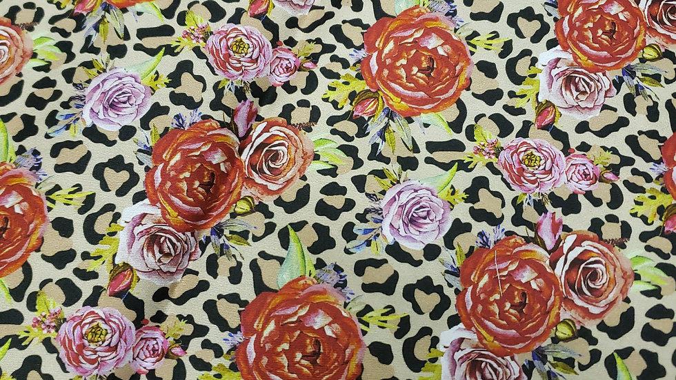 Roses & Leopard 🐆