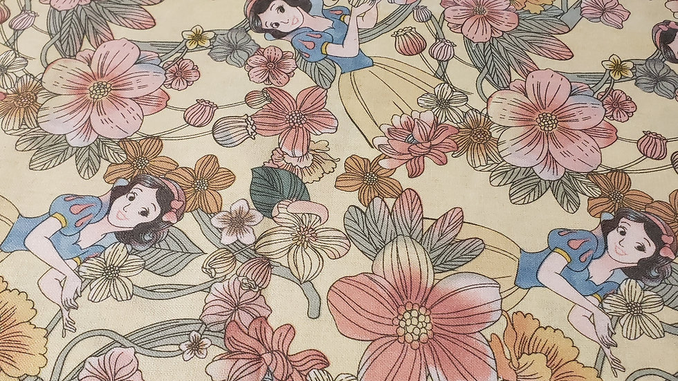 Disney Snow White Floral Forest