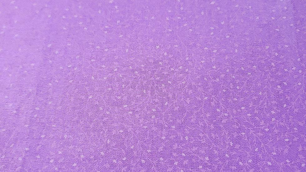 Purple Mini Floral Mask