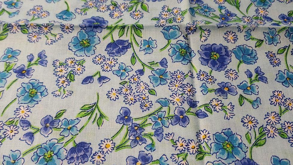 Blue Floral Bliss