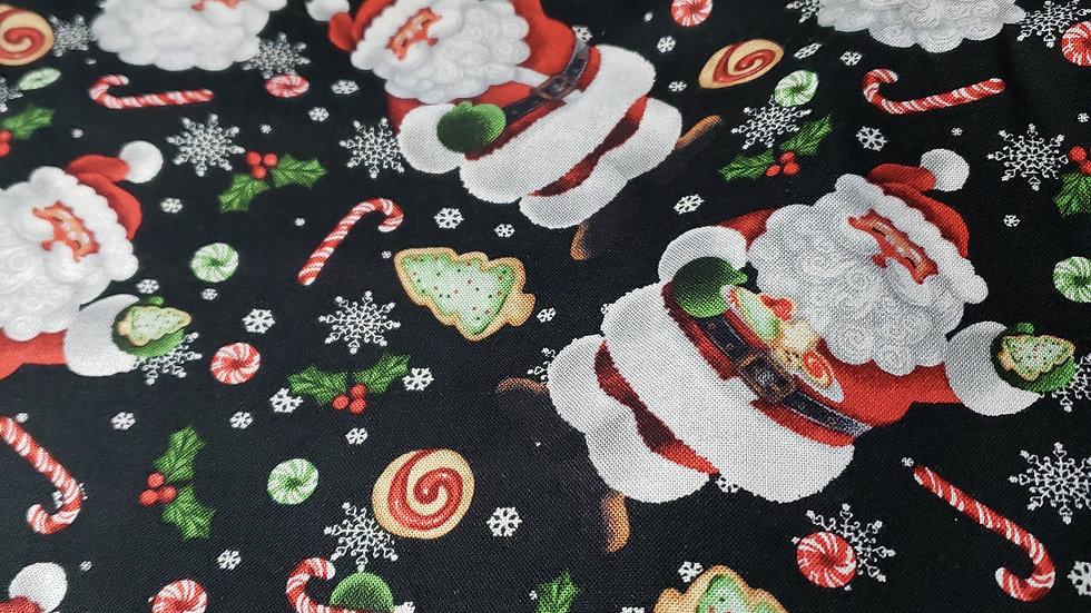 Santa Claus Scrub Caps