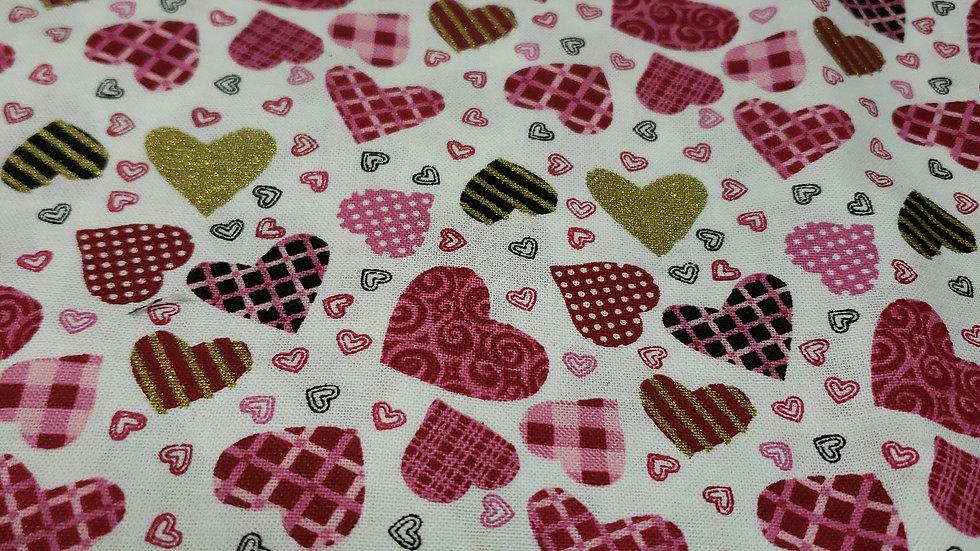Valentines Multi Hearts 💕 ♥ mask