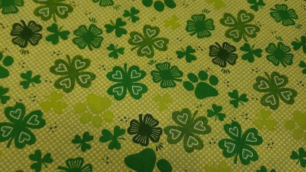 St. Patrick's Day Shamrocks ☘ and 🐾